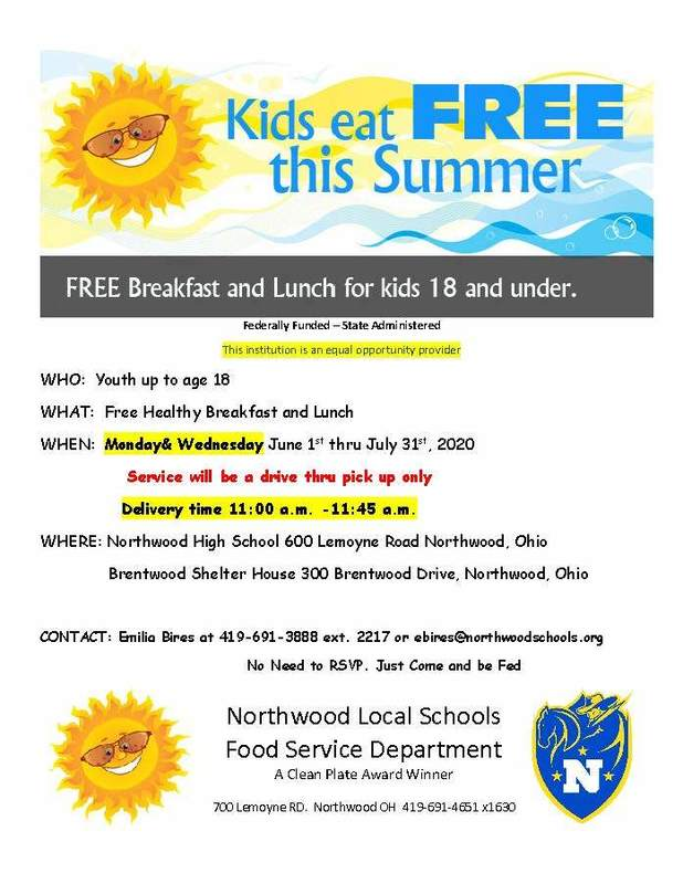 Summer Feeding Program Info